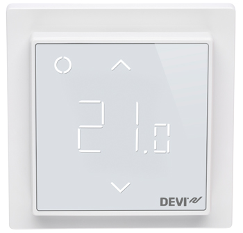 devi der devireg smart thermostat verbindet intelligente fu bodenheizung und. Black Bedroom Furniture Sets. Home Design Ideas