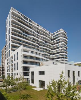 AXIS Frankfurt Gebäudeansicht