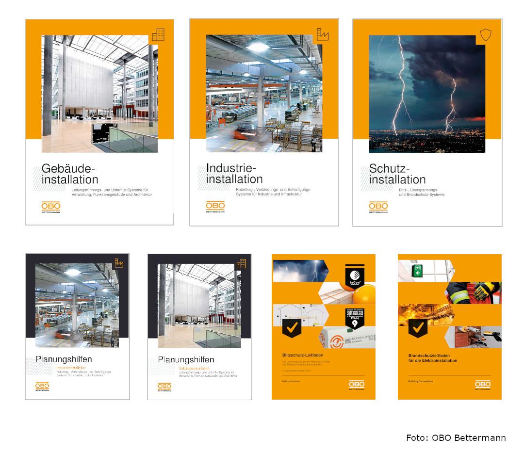 OBO Produktkataloge und Planungshilfen