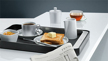 Frühstück mit Siemens