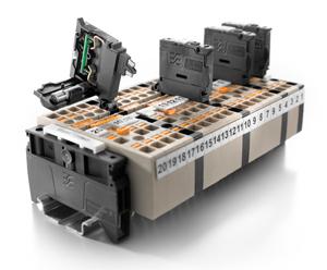 Klippon Connect-Sicherungs- und Trennklemmen mit PUSH IN-Anschluss