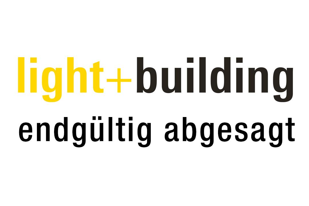 light+building endgültig abgesagt