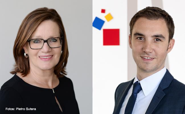 Maria Hasselman und Johannes Möller