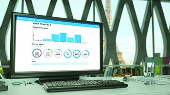 Die BALS-CONNECT WebApp zeigt die Verbrauchsdaten übersichtlich an.