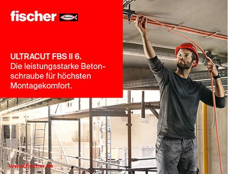Die leistungsstarke Betonschraube für höchsten Montagekomfort.