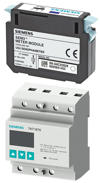 Energiemonitoring-Komponenten