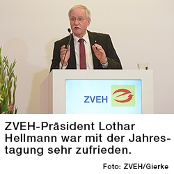 ZVEH-Präsident Lothar Hellmann