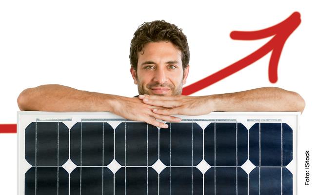Neuer Rekord bei der Erzeugung von PV-Strom