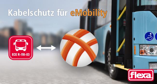 Kabelschutz für eMobility