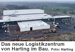 Harting Logistikzentrum im Bau