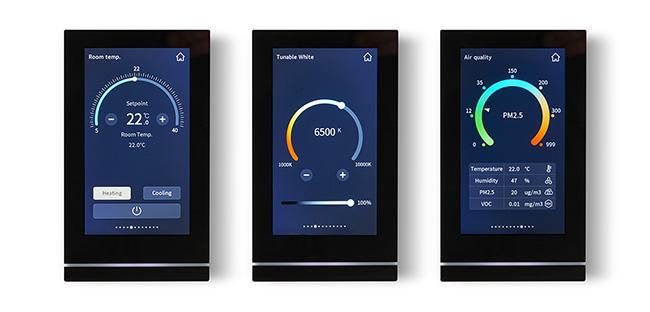 Das neue KNX Touchpanel TC5 von Siemens