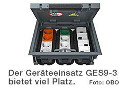 Geräteeinsatz GES9-3