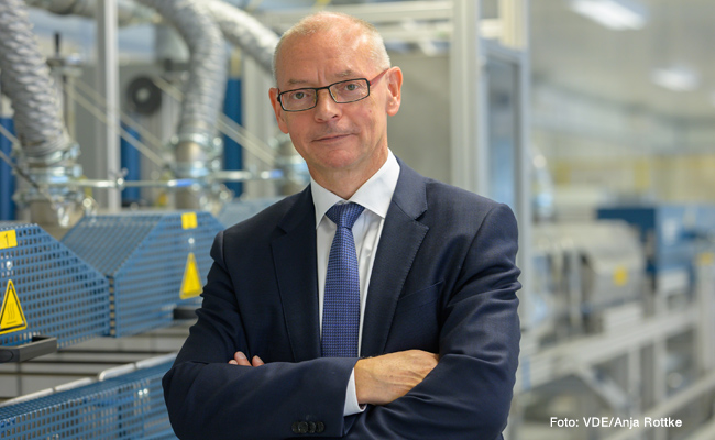 VDE Präsident Dr. Armin Schnettler
