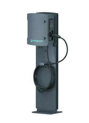 Wallbox smartEVO22 Stele Ladekupplung