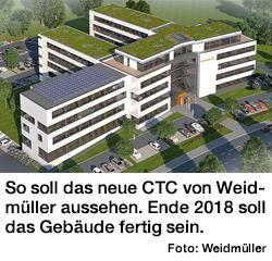 Weidmüller Neubau