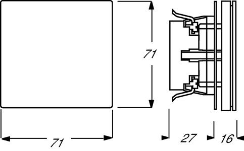 Розетка Impuls 2P+E с защ. крышкой шампань ABB 2CKA002018A1016 купить в интернет-магазине RS24