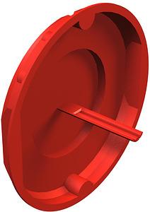 Dobozfedél jelzôtüskés 70mm