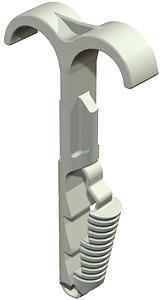 Kábelrögzitő 12-25mm 2-es (beütőszáras)