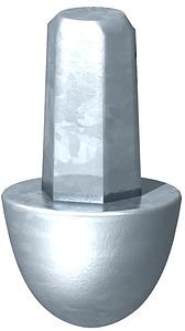 Földelôhegy földelôhöz 20mm OBO 3041204