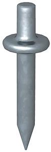 Beütő dübel L18mm,menet nélkül