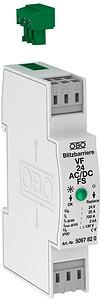 Túlfesz.levezető V 24-AC/DC-FSpotenciálmentes jelzéssel