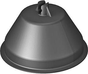 Tetővezető tartóhoz müa.ház 165/KR