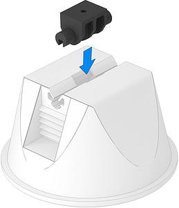 Adapter tetővez. tartóhoz univerzális OBO 165 MBG UH