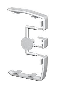 Toldásponti takaróelem alumínium OBO GEK-KS45