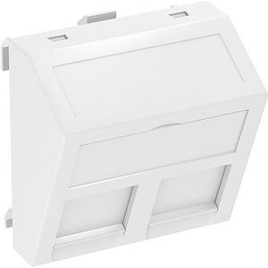 Adatátviteli modul taró, 45x45hófehér
