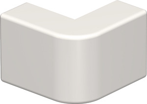 Külső sarokfedél 10x20 krémfehér