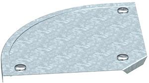 Fedél 90° ívhez 200mm t.horg.rDFB90/200