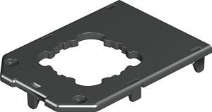 Padlódoboz fedlap 104x76 1-es GB23P2 EKR