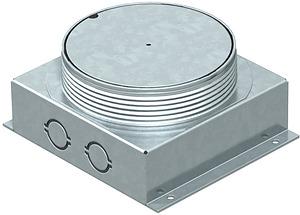 Ack.padlódoboz fém, kerek UDL2-120/70