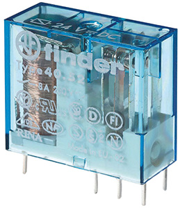(A) Miniature relay 2CO 8A 12VDC, 405290120000