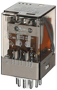 (A) Industrial Relay 3CO 10A 24VAC**, 601380240040