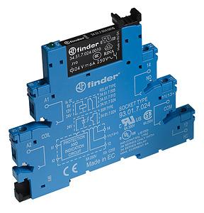 (A) Relay module 1CO 6A 240V AC/DC, 385102400060