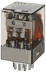 (A) Industrial Relay 3CO 10A 110VAC, 601381100040