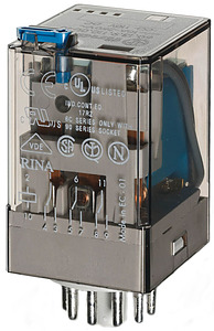 (A) Industrial Relay 3CO 10A 24VDC, 601390240040