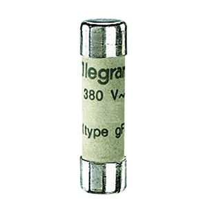 Lexic hengeres olvadóbiztosító 8A gG 8,5 x31,5 kiolvadás jelző nélkül