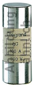 Lexic hengeres olvadóbiztosító 50A gG 22 x58 ütőszeg nélkül