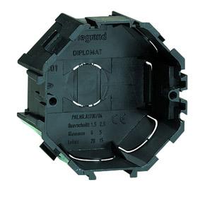 Legrand tégladoboz egyes D65 mm nyolcszögletű