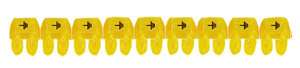 CAB3 0,5-1,5 föld jelölő sárga