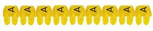 CAB3 0,5-1,5 A jelölő sárga