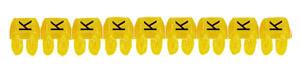 CAB3 1,5-2,5 K jelölő sárga