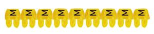 CAB3 1,5-2,5 M jelölő sárga