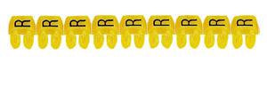 CAB3 1,5-2,5 R jelölő sárga