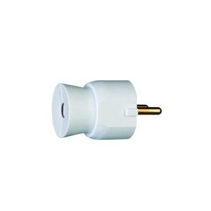 Legrand 2P+F csatlakozó dugó műanyag, fehér