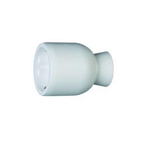 2P+F földelt, hátsó bekötésű műanyag csatlakozóaljzat, fehér