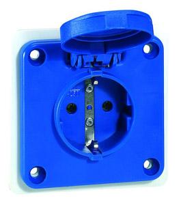 P17 Tempra háztartási aljzat kék