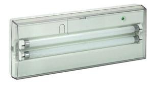 S8 tartalékvilágítási lámpatest 8W, fénycsöves,1 óra 140 lm